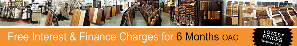 Free Intrest & Finance Charge on Flooring Purchases